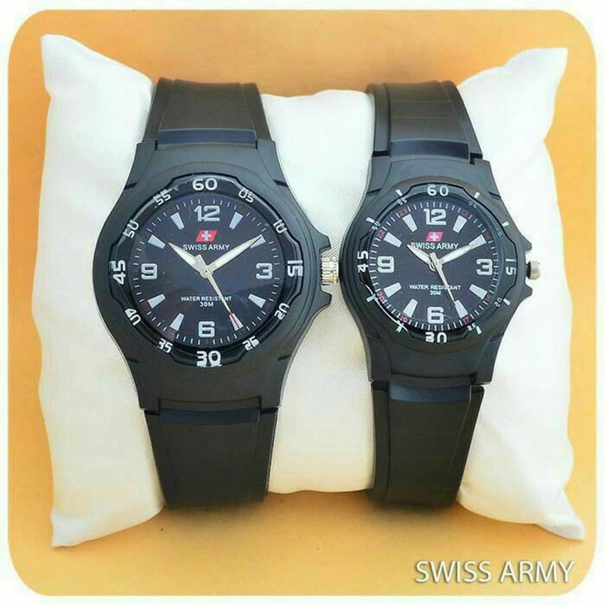 Swiss Time/Army - ST555 Jam Tangan Couple