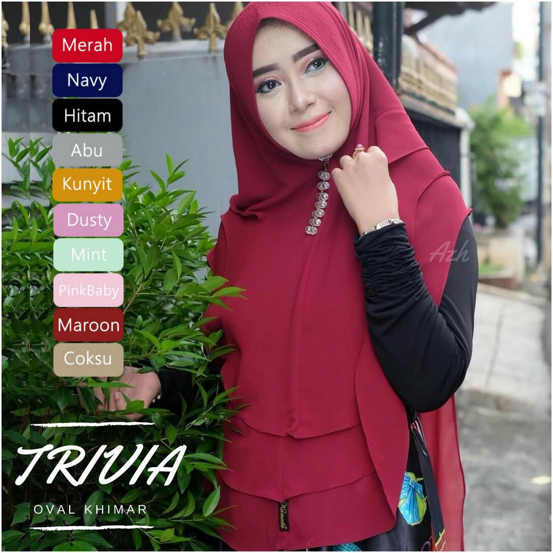 Features Jilbab Pet Layer Ceruti Dan Harga Terbaru Tempat 3layer Syari Ori Hijab Instan Khimar Trivia Oval 3 Sifon Jumbo