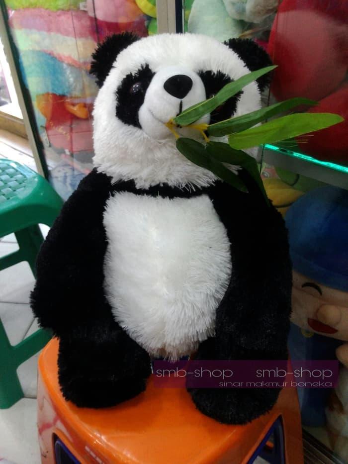 Kelebihan Sedang Diskon!! Boneka Panda Baby Gigit Daun Lucu Ready ... 6cedb9b9ff
