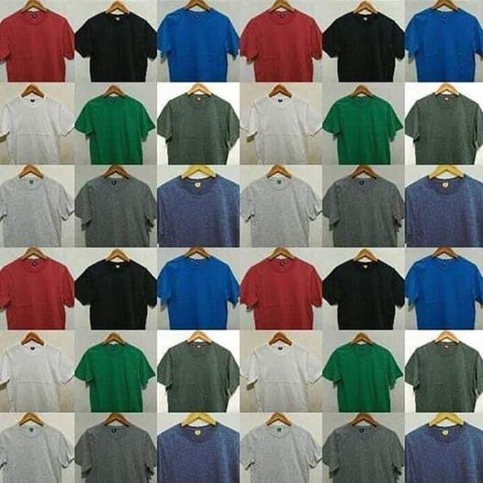 Baju Kaos Polos Distro Bandung Chocholate Misty(Coklat Misty) - ready stock Terbaru