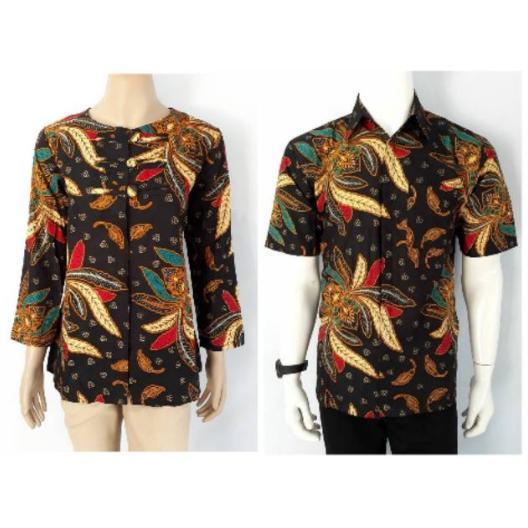 Batik Couple ukuran M L XL XXL Pria Wanita