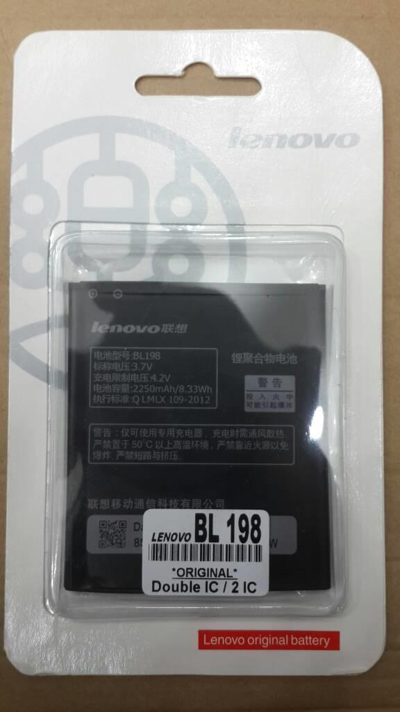 Baterai Hp / Baterai Original Lenovo Bl198 Tipe A859 A859 K860 S880 S890