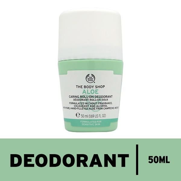 Review Toko The Body Shop Aloe Deodorant Roll On 50Ml