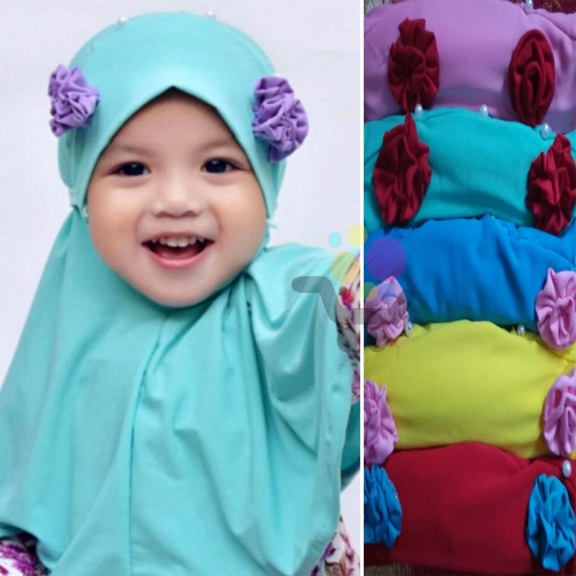 Fitur 3 Pcs Grosir Kerudung Anak Bayi Maryam Jilbab Anak Bayi Jilbab