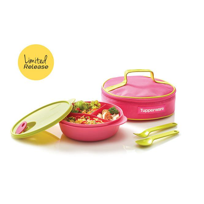 Tupperware Crystalwave Lunch set