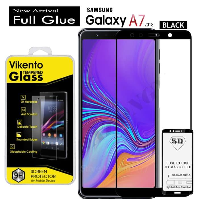 Features Tempered Glass Vikento For Samsung Galaxy A7 2018 Black