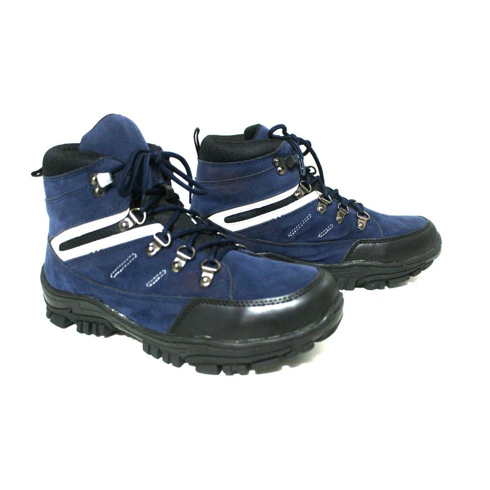 sepatu boots pria cobra black master original kerja hunting hiking