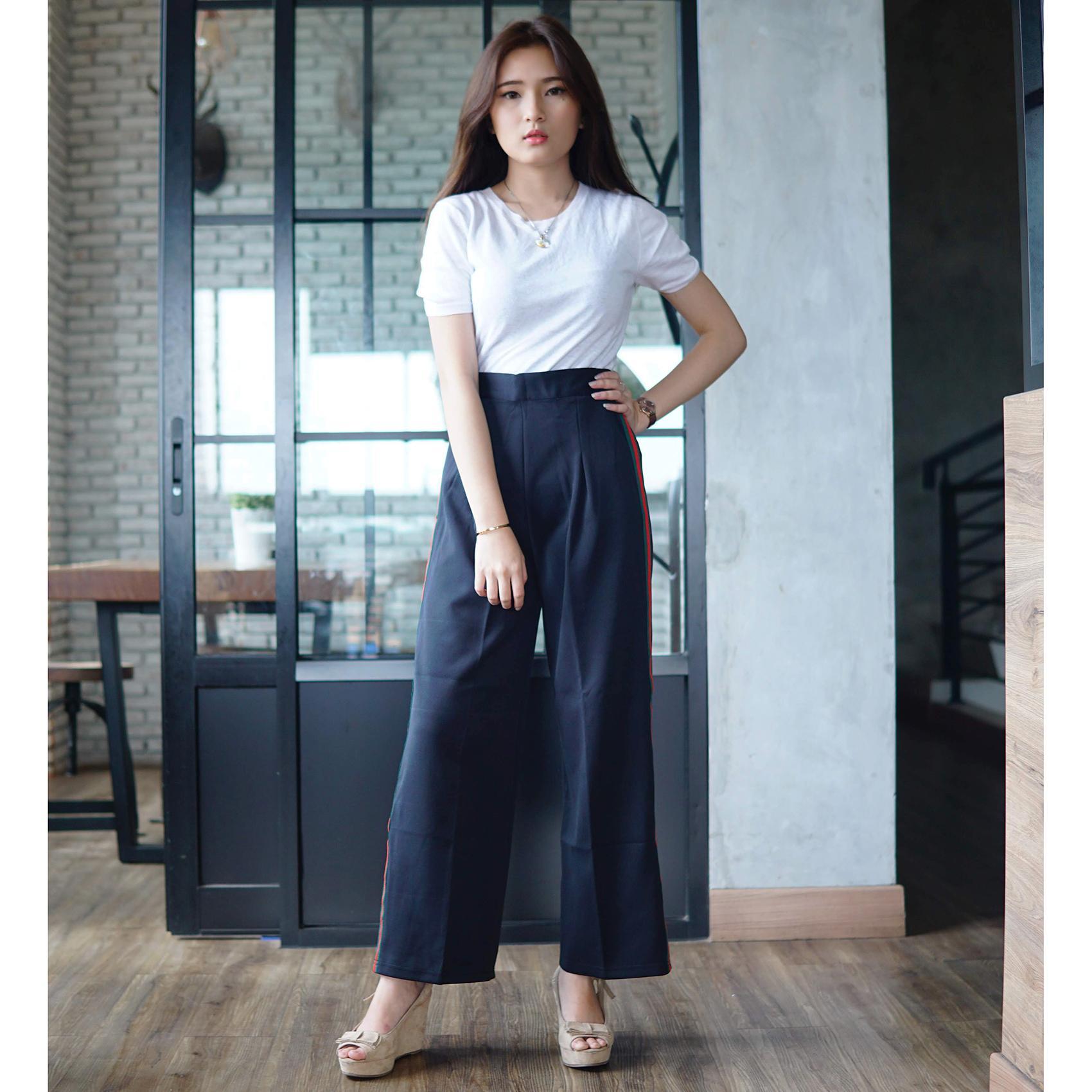 ... Rumah Jeans / Celana Kulot Panjang / Kulot Scuba GC / Celana Scuba Premium - 4 ...