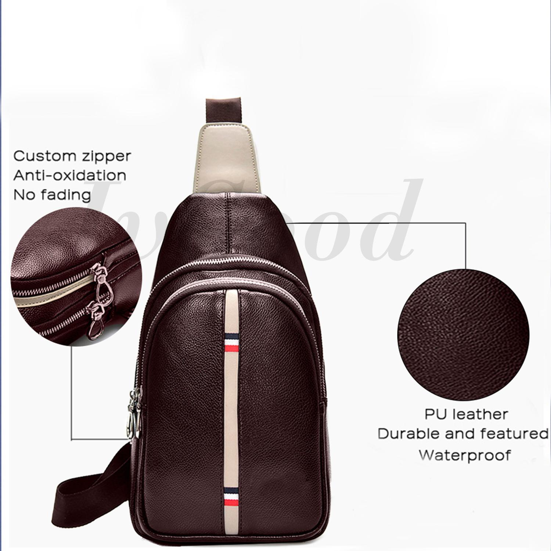 ... JvGood Tas Selempang Pria Messenger Bags Sling Bags Anti Thief Leather Sling  Bags - 4 ... bfae8a5e12