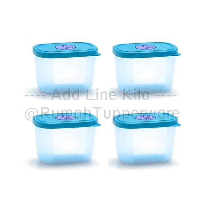 Tupperware Mini Freezermate With Dial (4Pcs Kotak Khusus Freezer) - Abd241