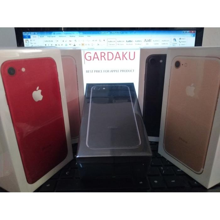 READY  iPhone 128gb 7 Plus garansi apple resmi 1 thn