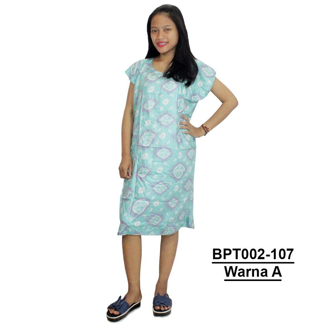 Batik Alhadi Daster Midi Printing Bpt002 27e Daftar Update Harga 38 13a Source Dress Santai