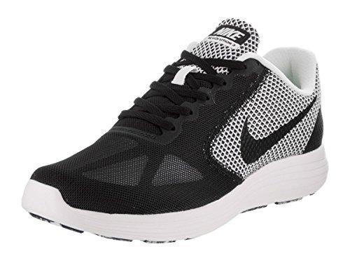 Nike Revolution 3 Sepatu Lari - White/Black