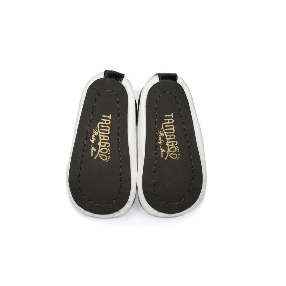 Tamagoo Sepatu Bayi Laki Baby Shoes Prewalker Will Grey Masson Silver  Branded 3 6 Bulan Mike Black