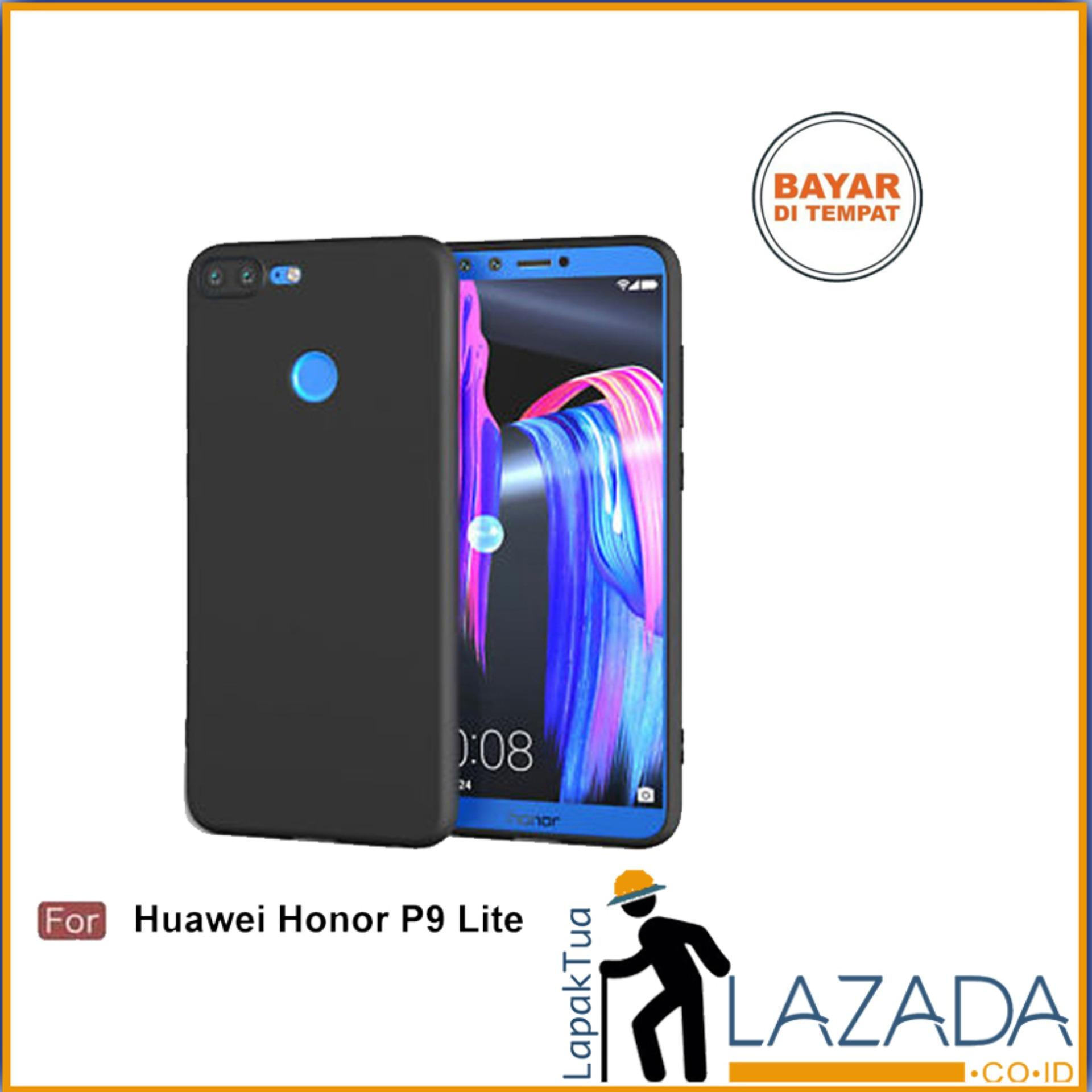 Lapak Case - Softcase Midnight Black Matte Case Ultraslim Baby Skin Untuk Huawei Honor 9 Lite