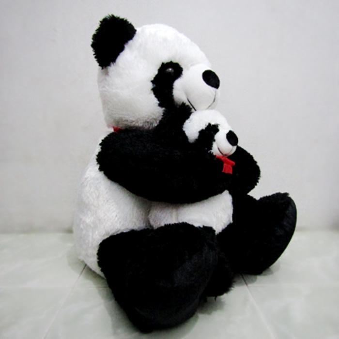 Fitur Boneka Panda Jumbo With Baby Nekski Dan Harga Terbaru Harga 06159e4092