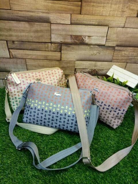 Supplier tas wanita murah branded import sale batam LACOSTE MINI OMBRE 07ee15cf97