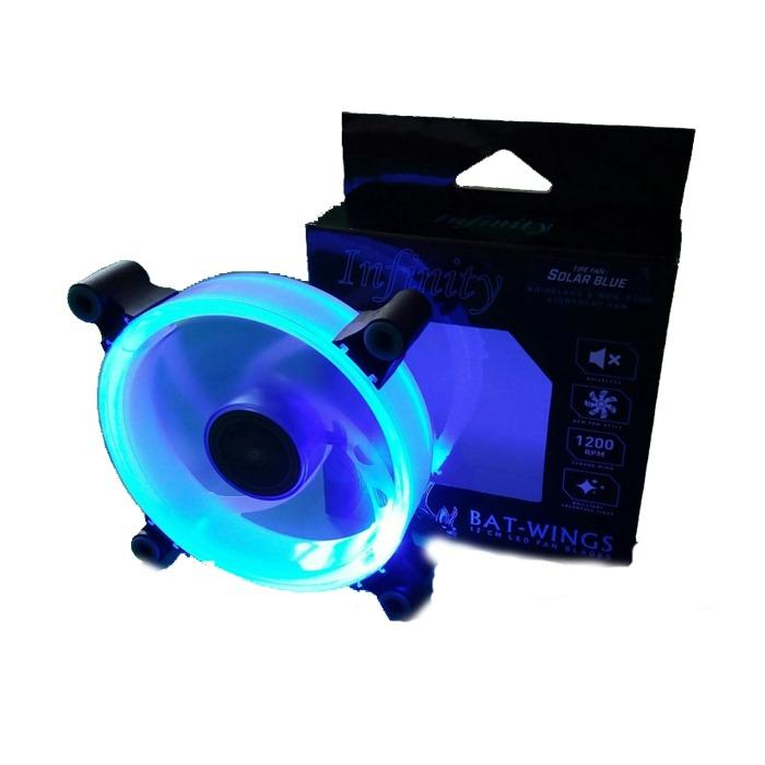 Infinity Solar Blue Fan Casing 12CM