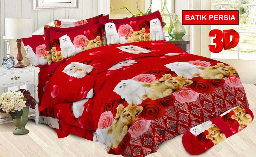 Sprei BONITA 3D size king 180x200 / sprei no. 1 / sprei bonita Batik Persia