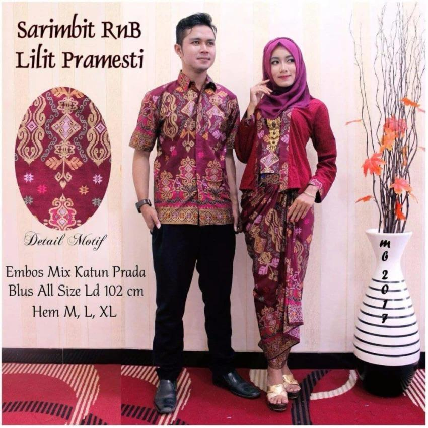 Baju Batik Couple Sarimbit Lilit PramestI