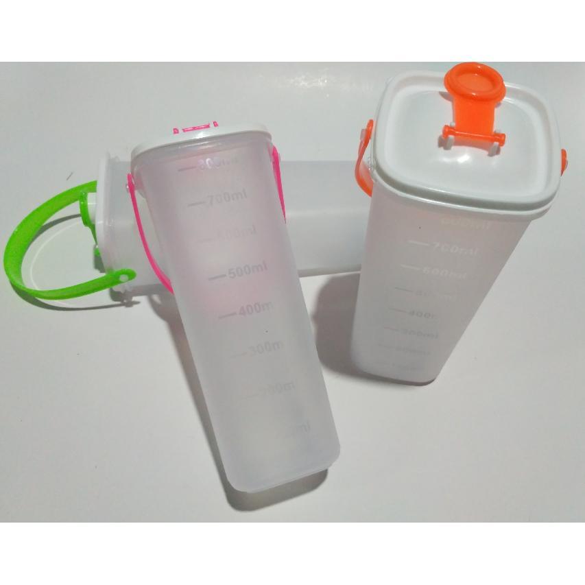... DOS Botol minum / botol air / botol takar / botol kulkas 800cc - 3 set