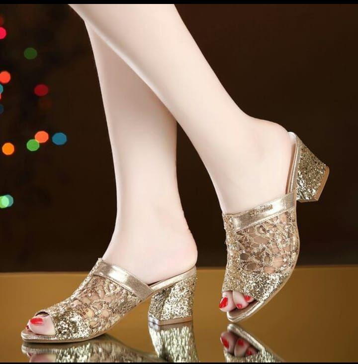 Pesonashoes Heels Hak tahu diamond Trendy