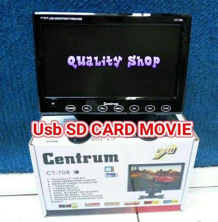 ORIGINALS  TV LED ONDASH CENTRUM 7 INCH USB SD MOVIE