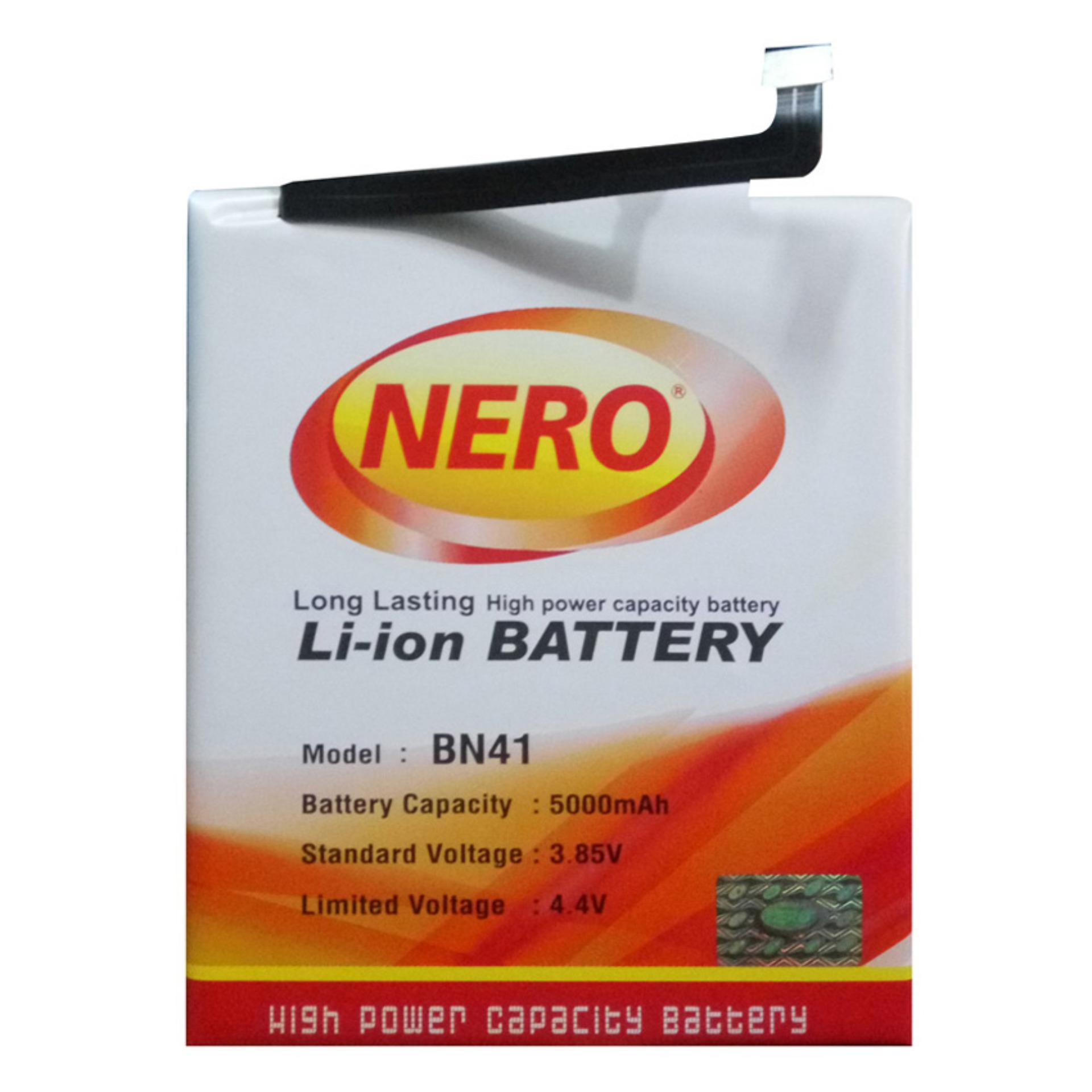 Nero Baterai Double Power untuk Xiaomi Redmi Note 4 / BN41L - 5000 mAh