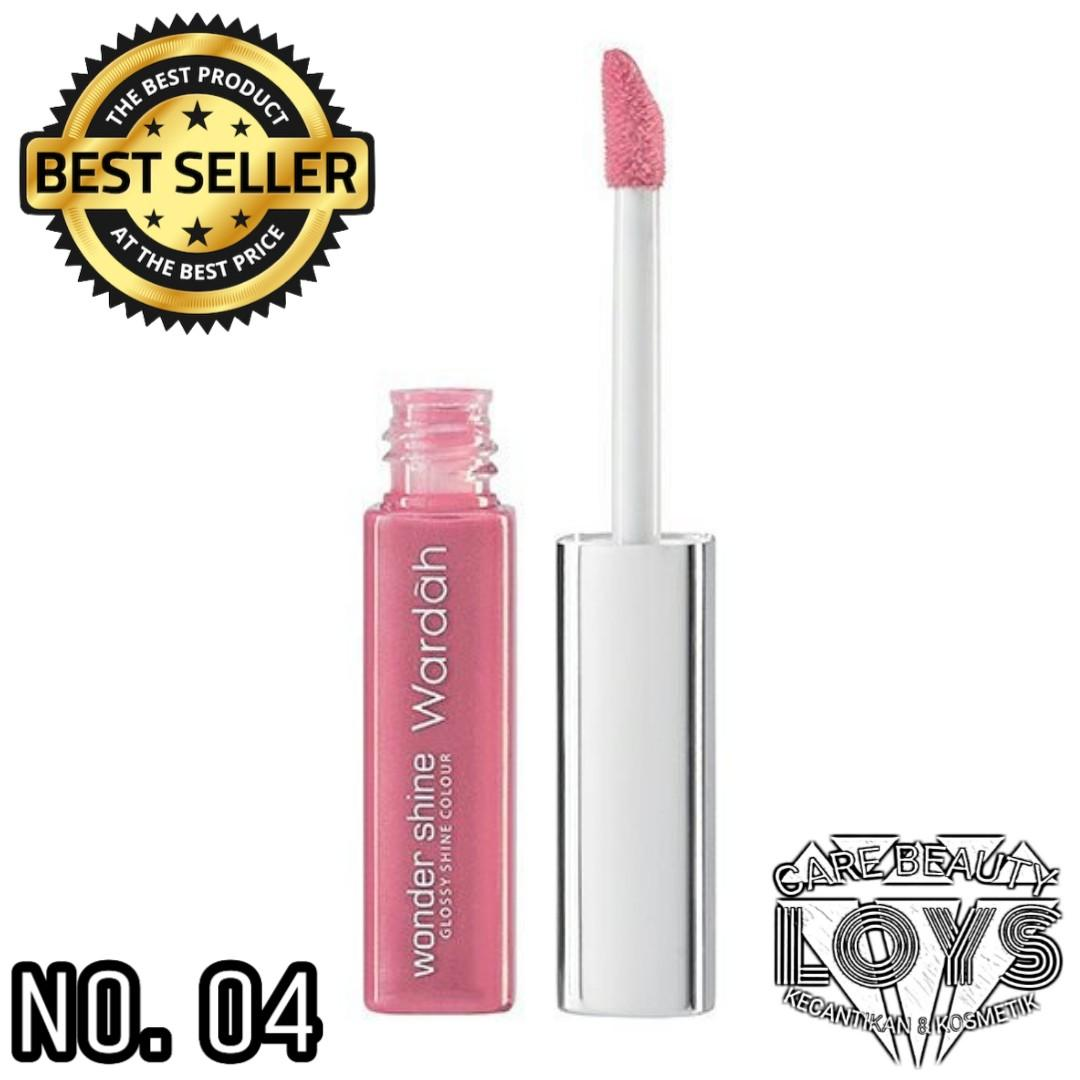 Wardah Wonder Shine 04 Pale Pink