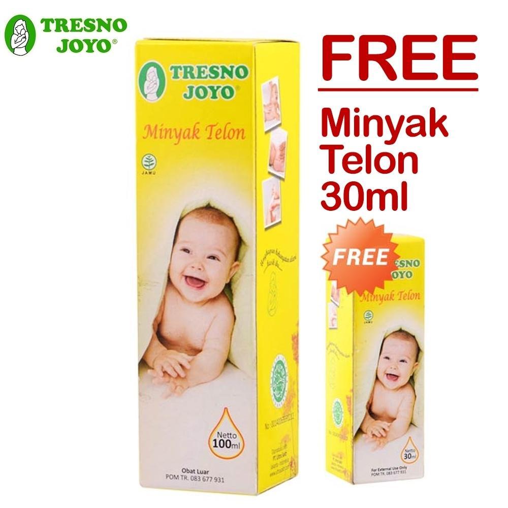 Tresno Joyo Minyak Telon 100ml + FREE Minyak Telon 30ml