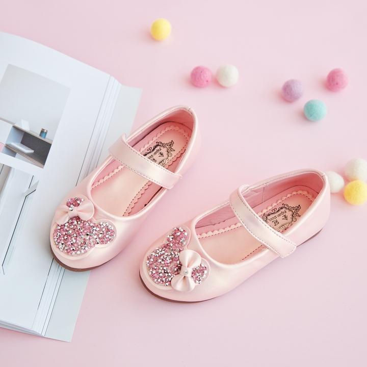 Anak prempuan Sepatu Kulit 2018 musim semi dan musim gugur model baru  Sepatu anak-anak 204ee1d169