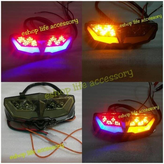Stoplamp/ Lampu Belakang Led Sen Drl Yamaha Xabre Vixion R VVA 155Cc