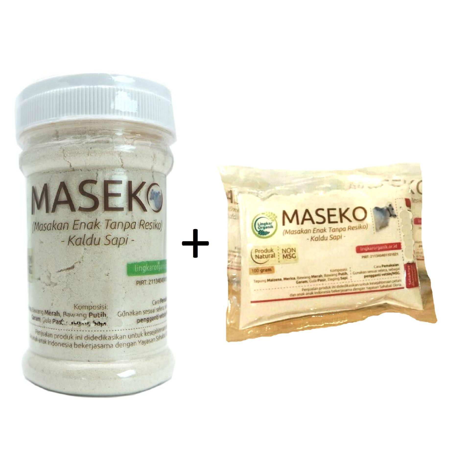 TheOrganicStop Maseko Kaldu Sapi + Refill Non-MSG MPASI @100 gram