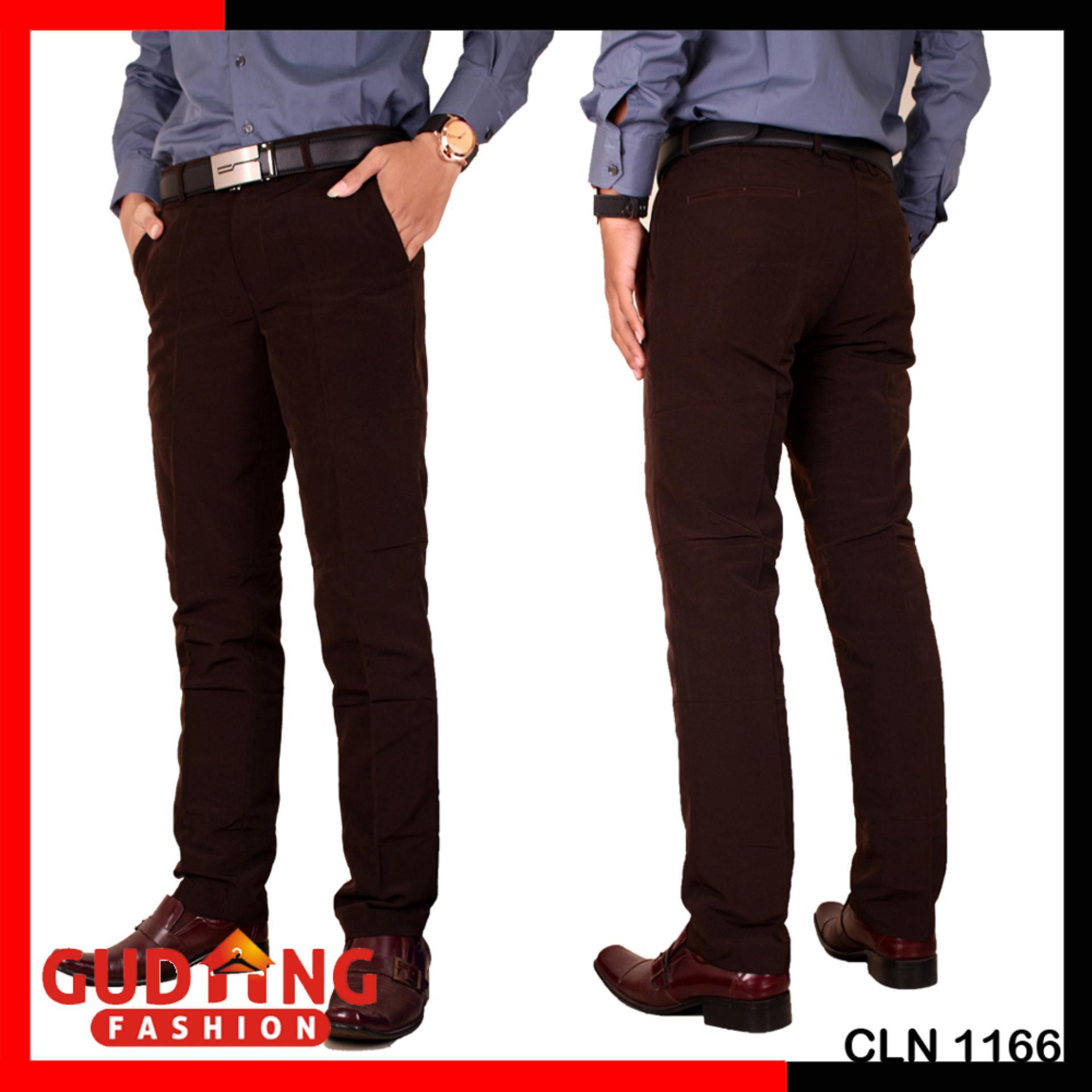 ... Gudang Fashion - Celana Panjang Formal Slim Fit Pria Kantoran - 3