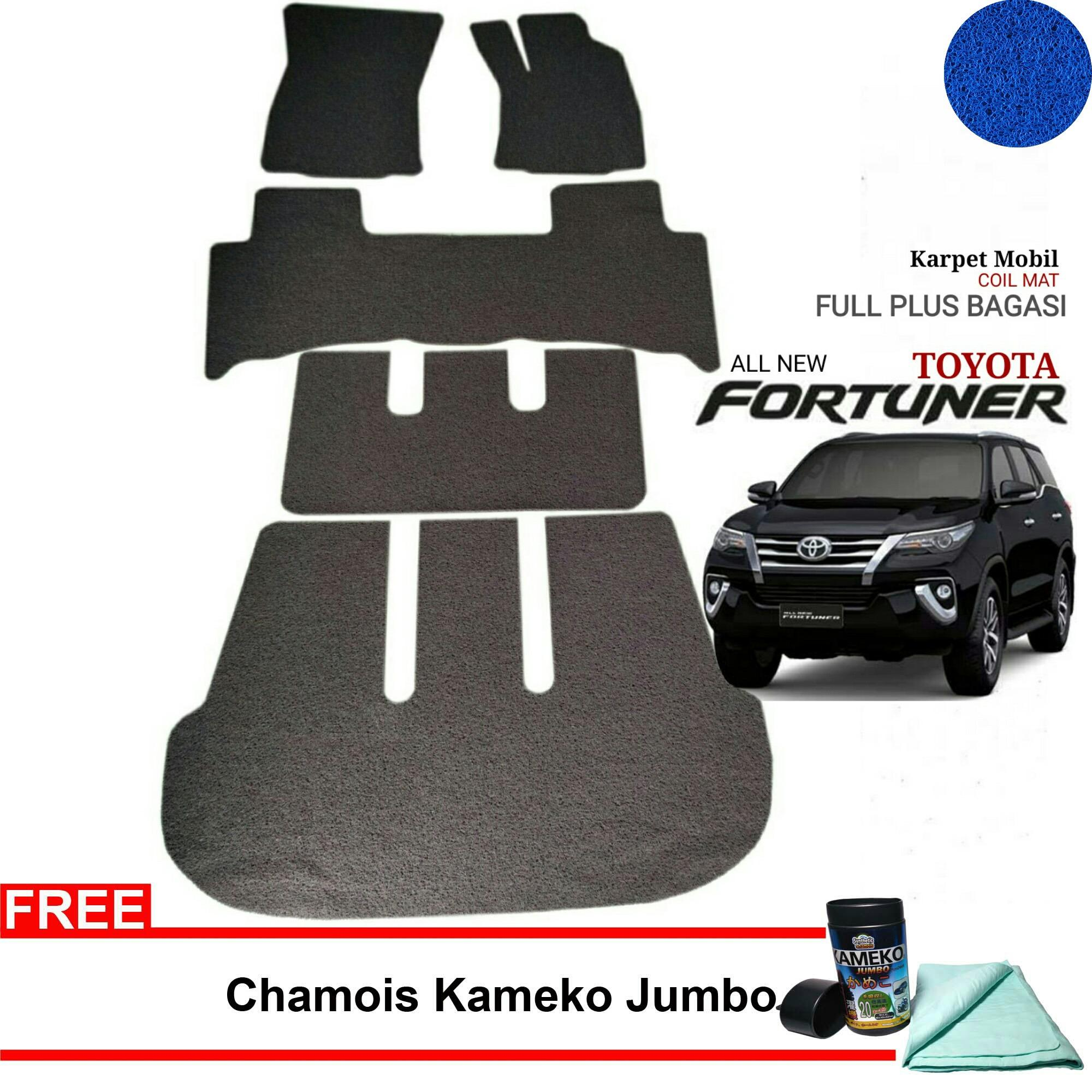 Jual Karmob Karpet Mobil All New Fortuner Karpet Mie All New Fortuner Comfort Karpet Karet All New Fortuner Aksesoris All New Fortuner Branded
