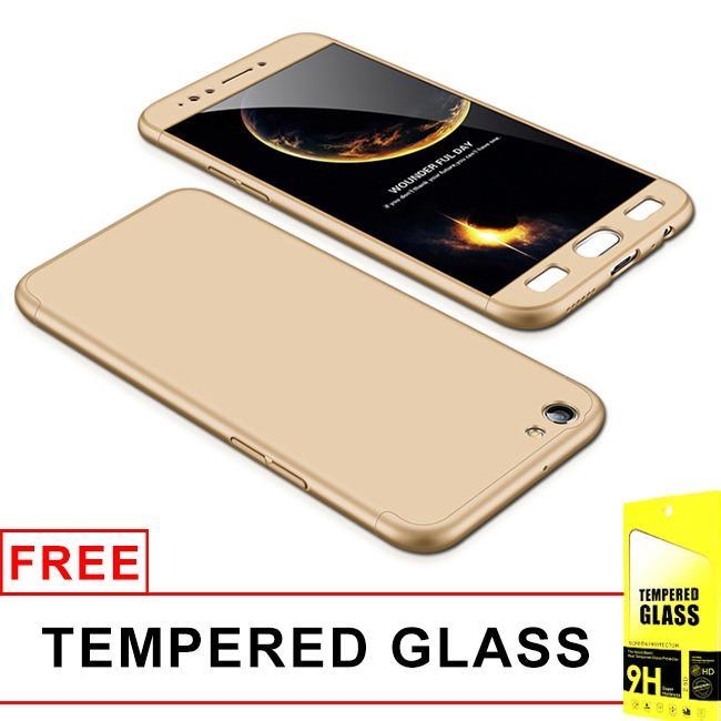 Harga Gsu Oppo F3 Armor Baby Skin Full Cover Matte Hard Case Tempered Glass Gsu Baru