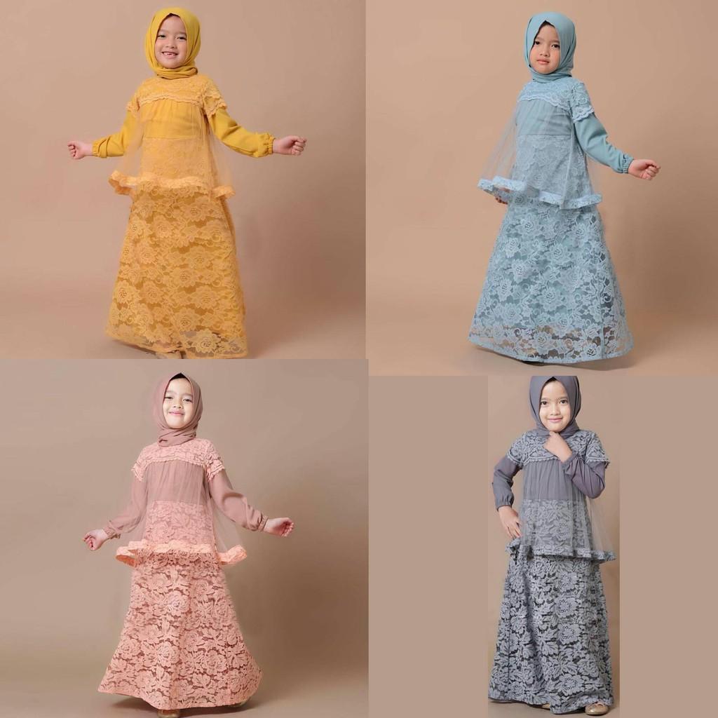 dandelia / KIDS SALIMAR (ed) / maxi anak / dress anak / dress kids