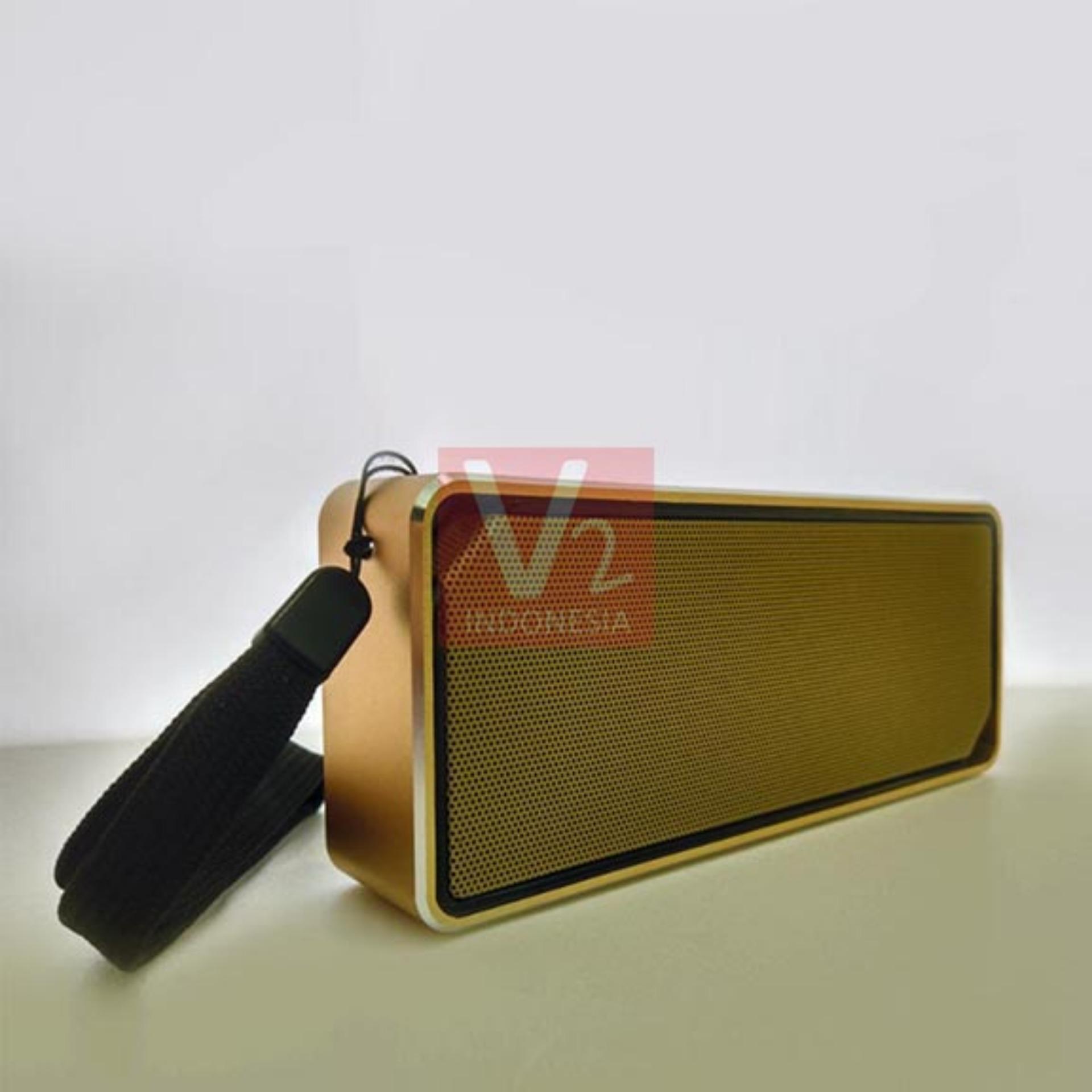 Review Nakamichi Nbs 601 Bluetooth Speaker Gold Dan Harga Terbaru Leather Black Perak 5