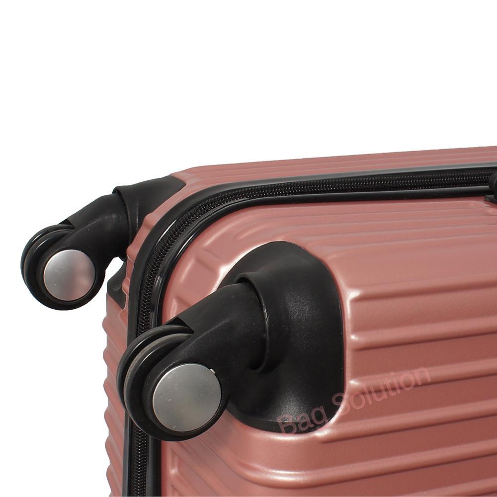 ... Real Polo Tas Koper Hardcase Fiber ABS - 4 Roda Putar - GGEA Size 20 Inch