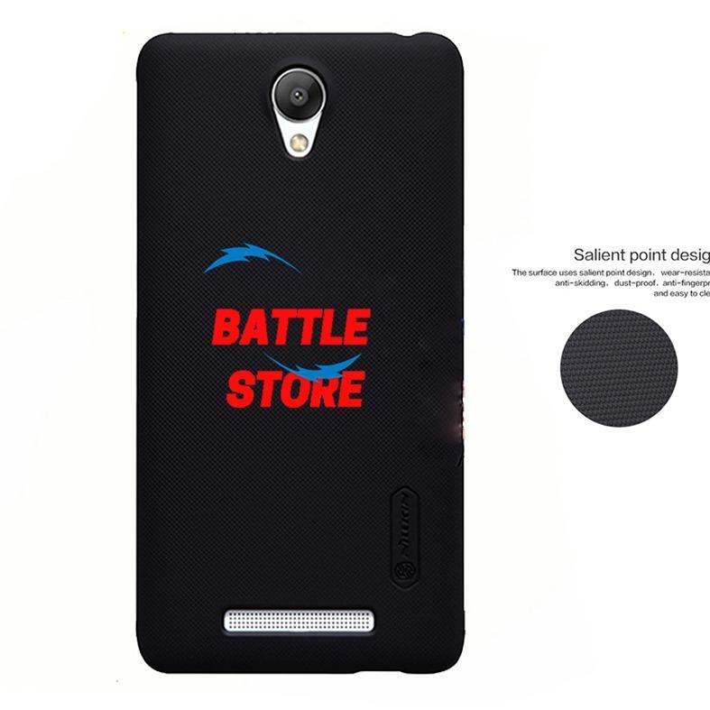 Nillkin Xiaomi Redmi Note 2 / Redmi Note 2 Prime Case Frosted Shield Hard Back Cover for Xiaomi Redmi Note 2 / Redmi Note 2 Prime - Hitam