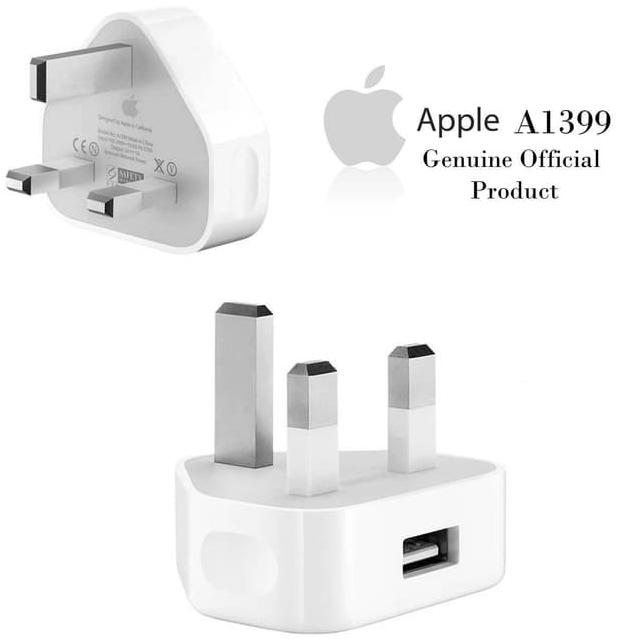 Adapter charger iphone 5 678x original(colokan kaki 3).batok charger iphone original ...