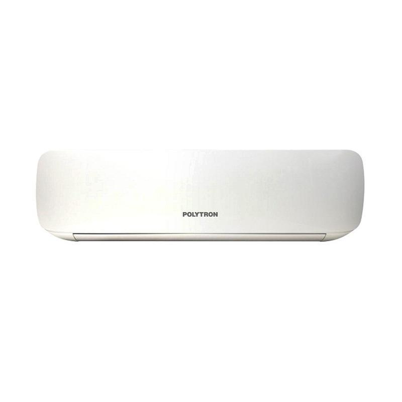 POLYTRON PAC-05VX AC Split - Putih [1/2 PK/Aurora Ice/Khusus Jadetabek] + Free Pemasangan Pipa & Kabel 5 M + Duct + Bracket