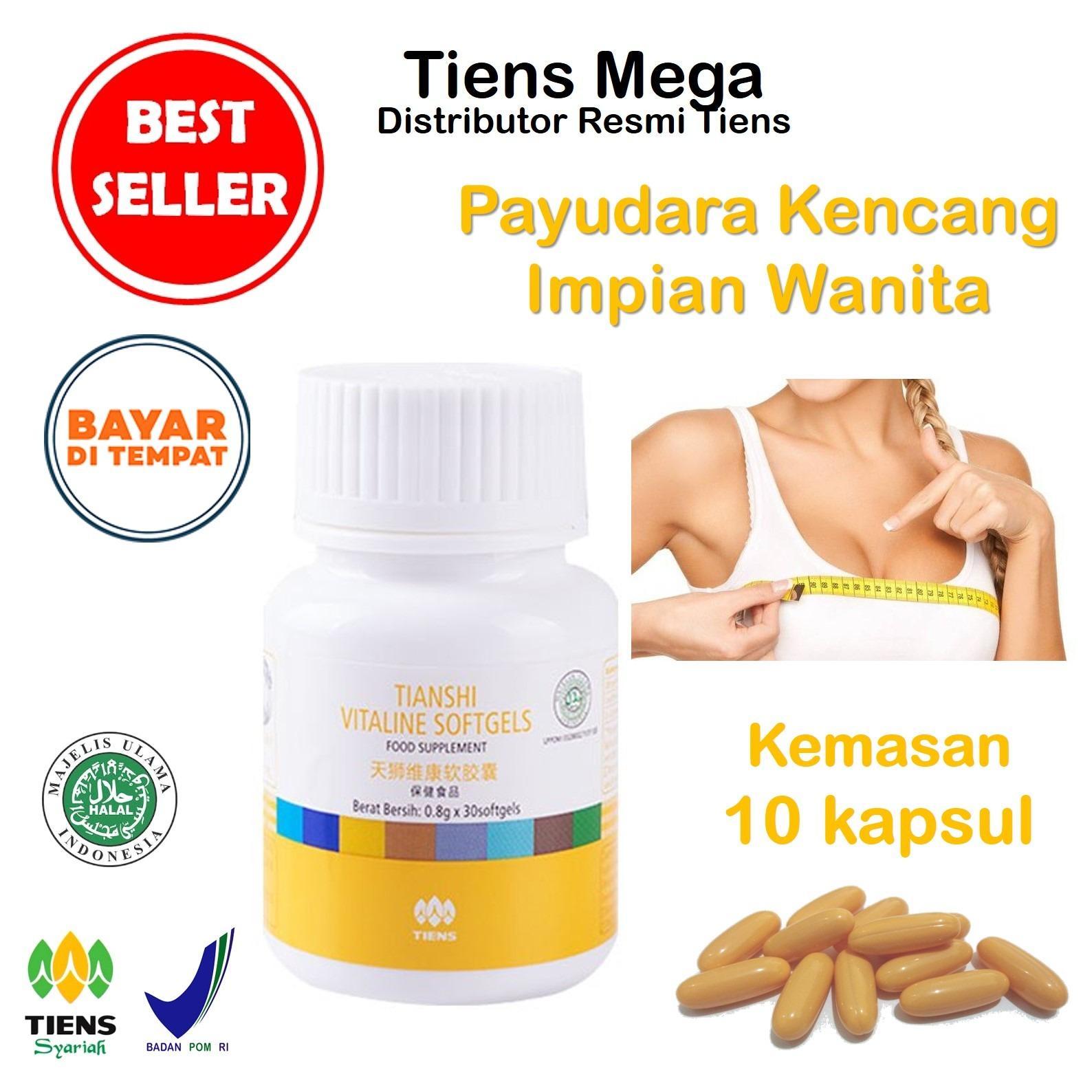 Tiens Vitaline Vitamin E Breast Oil Pengencang Payudara Paket Promo Banting Harga 10 Softgel Gratis Kartu Diskon Tiens Mega Tiens Diskon 30