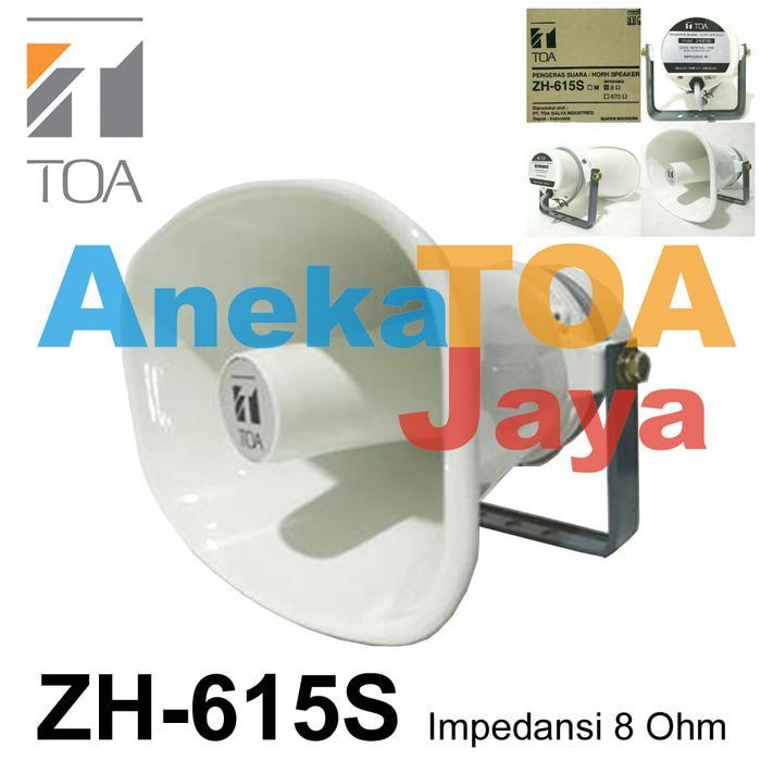 Original TOA ZH-615S HORN SPEAKER CORONG 100% ORIGINAL 615 S ASLI