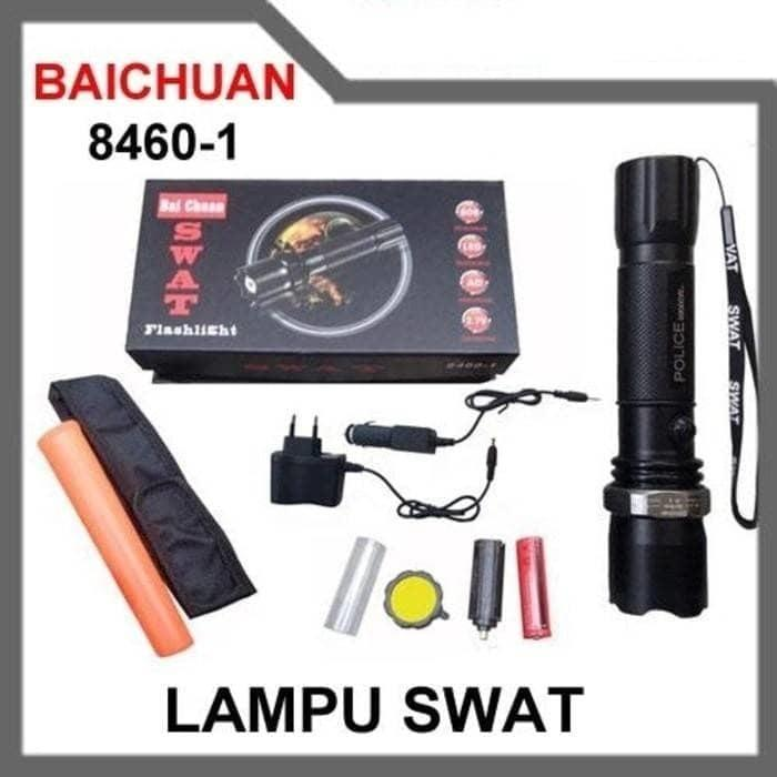 SENTER SWAT BAI CHUAN 8460-1 / SENTER POLICE LALIN / FLASHLIGHT SWATT