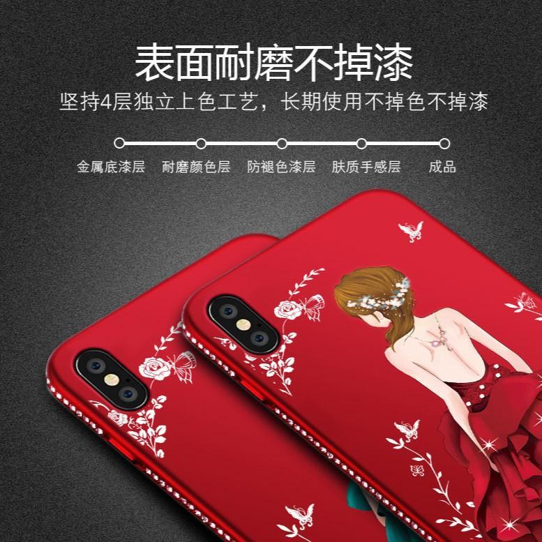 ... Wedding Girl Dress Slim Matte Case Xiaomi Redmi 5 5+ Note 5A Prime Softcase -