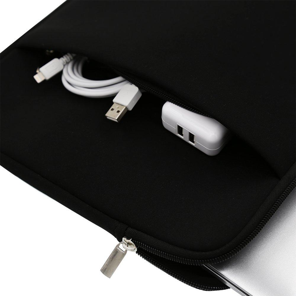 Tas Laptop Softcase Sleeve 14 inch Neoprene Zipper - 5 .
