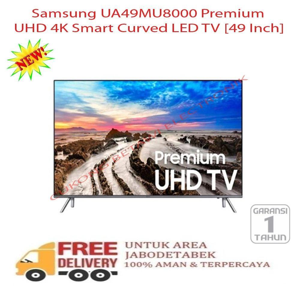 Samsung UA49MU8000 Premium UHD 4K Smart Curved LED TV [49 Inch] - KHUSUS JABODETABEK