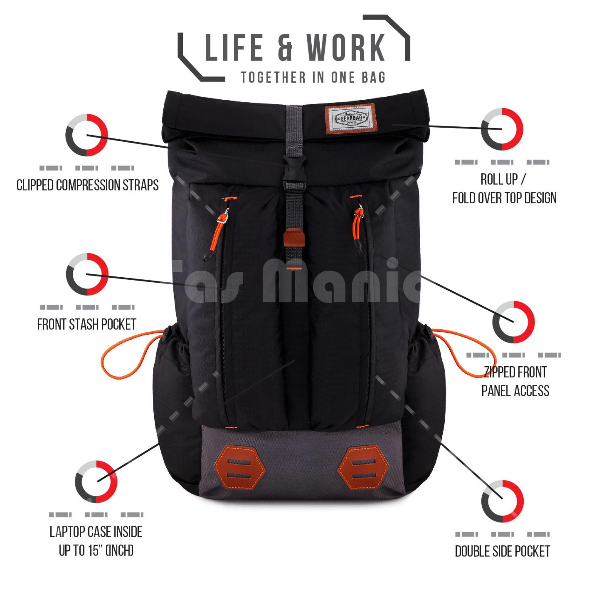 Gear Bag Excalibur Crossover Travel Duffle Tas Pakaian Multi Fabella Ransel Mount Everest Clr Adventure Laptop Backpack
