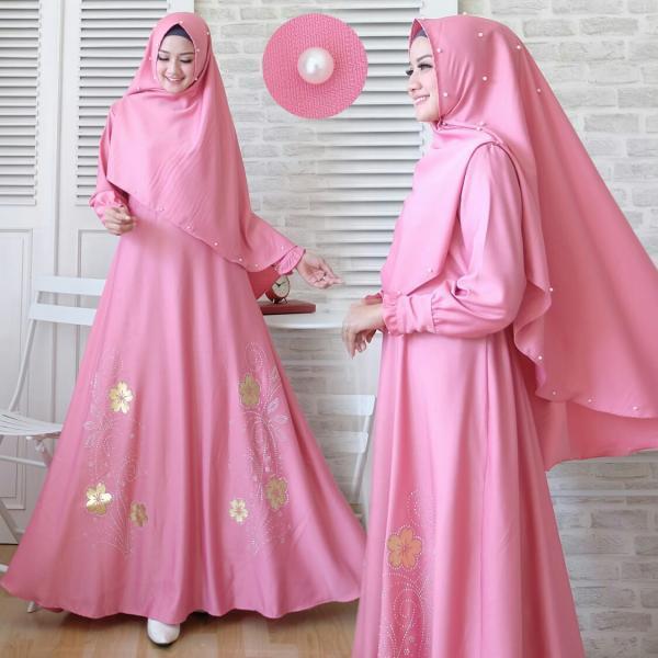 Janela Syari - Gamis Syari Muslim Murah Terbaru 2018 Grosir Pakaian Wanita  Busana Pesta Maxidress Modern 6dcb3df5da